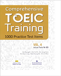 Comprehensive Toeic Training 1000 Practice Test Items (Vol 4) - Kèm CD